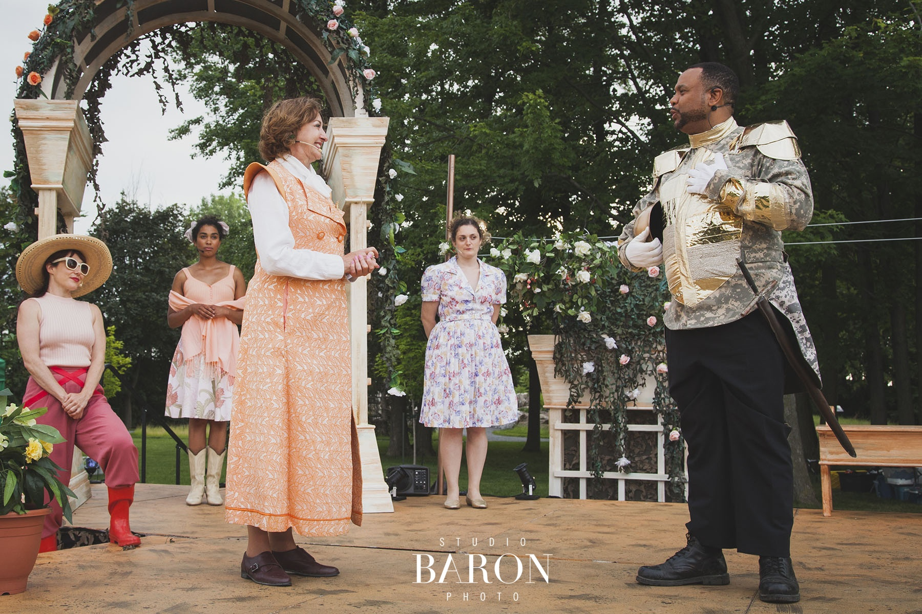 2017 production of 'Much Ado About Nothing' - © Studio Baron Photo