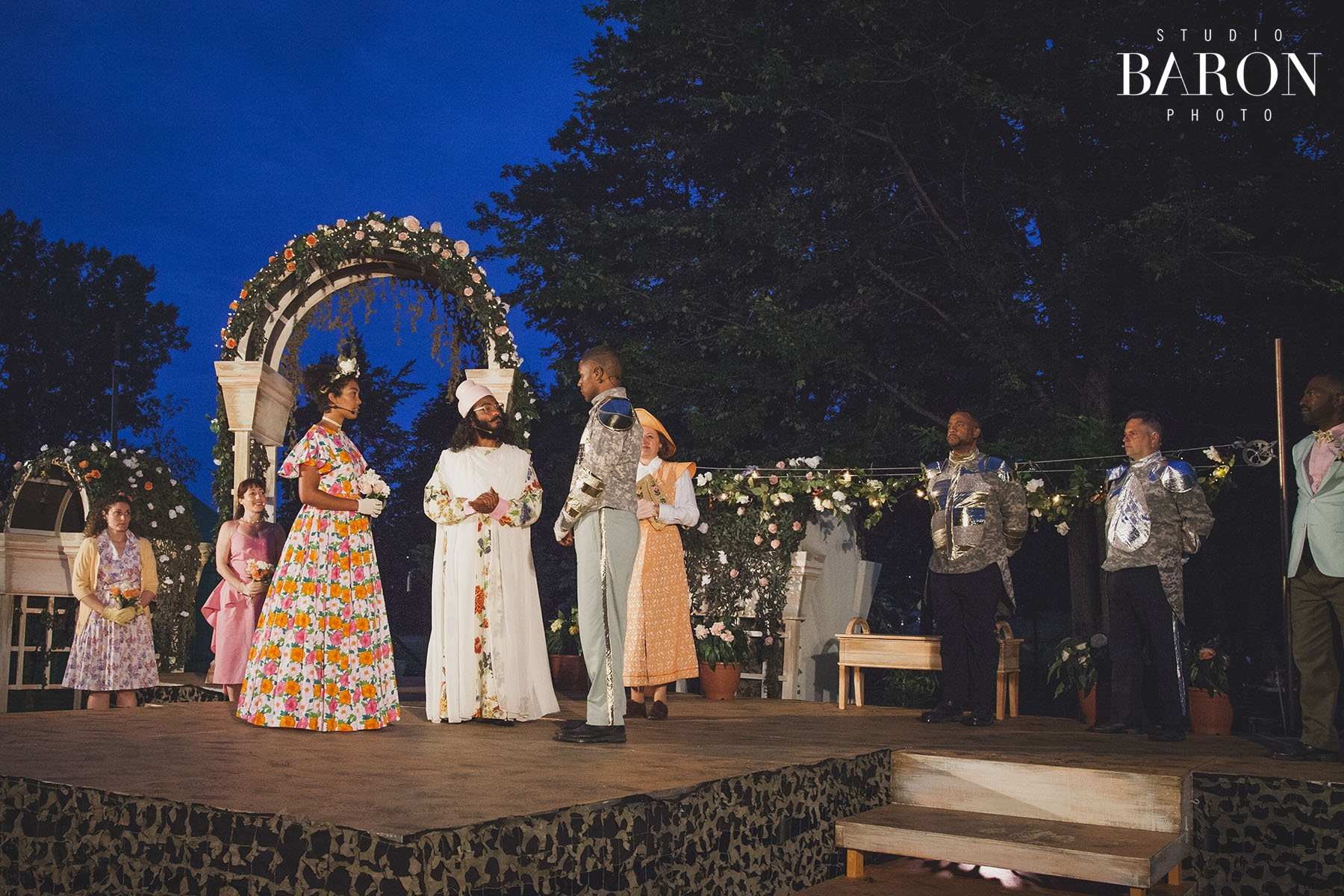 2017 Summer production of 'Much Ado About Nothing' - © Studio Baron Photo