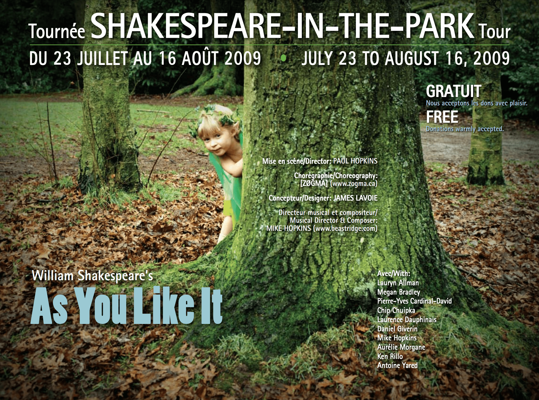 As You Like It 2009 Poster