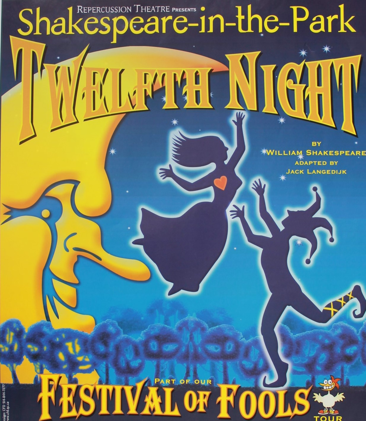 Twelfth Night 2001 Poster