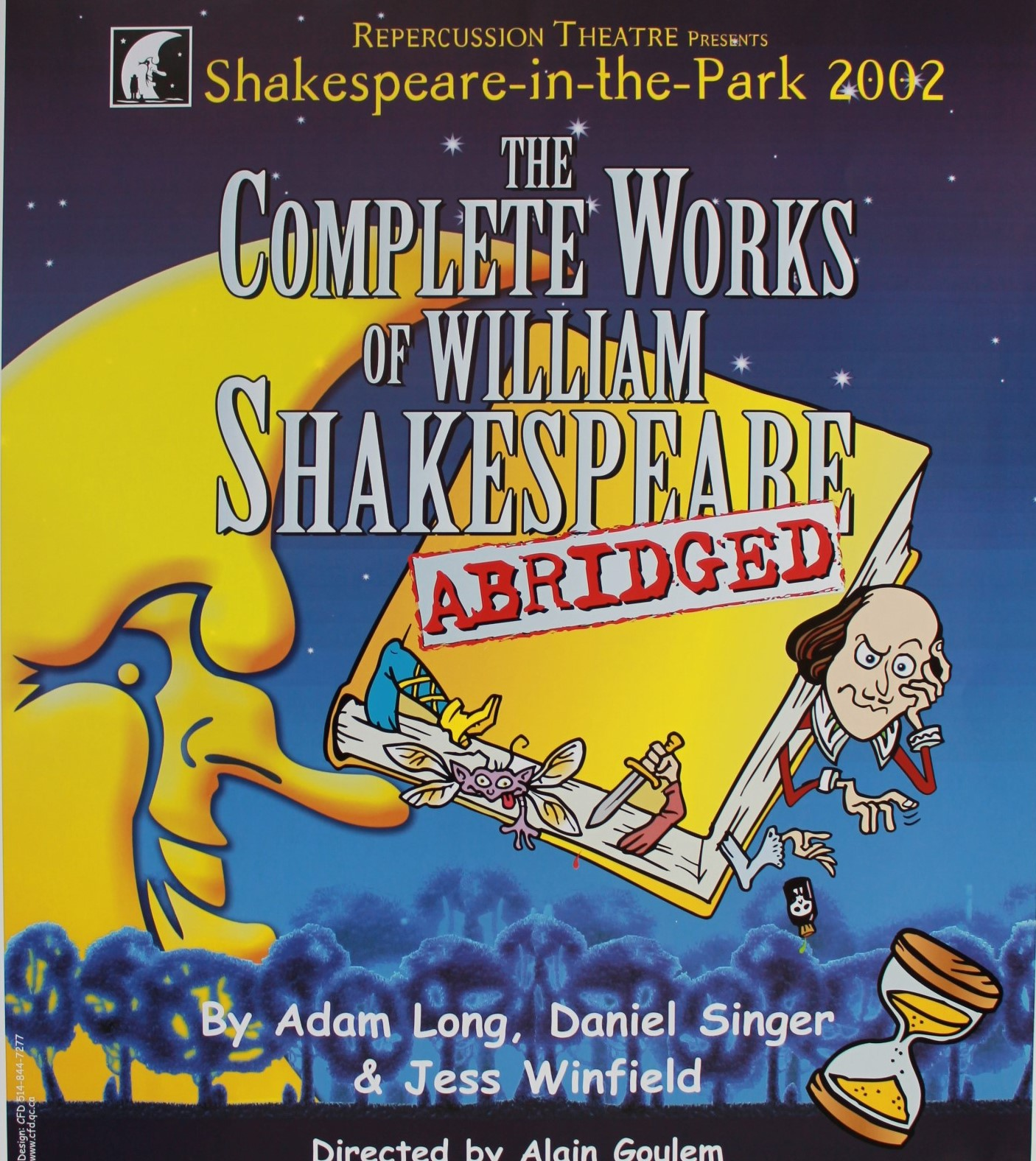 The Complete Works of William Shakespeare (Abridged) Poster 2002