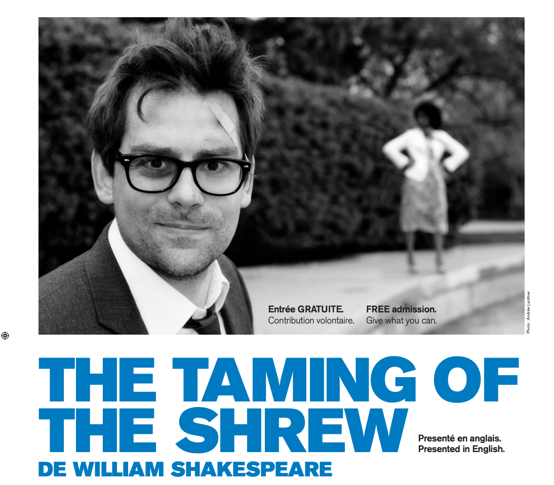 The Taming of the Shrew Poster 2012