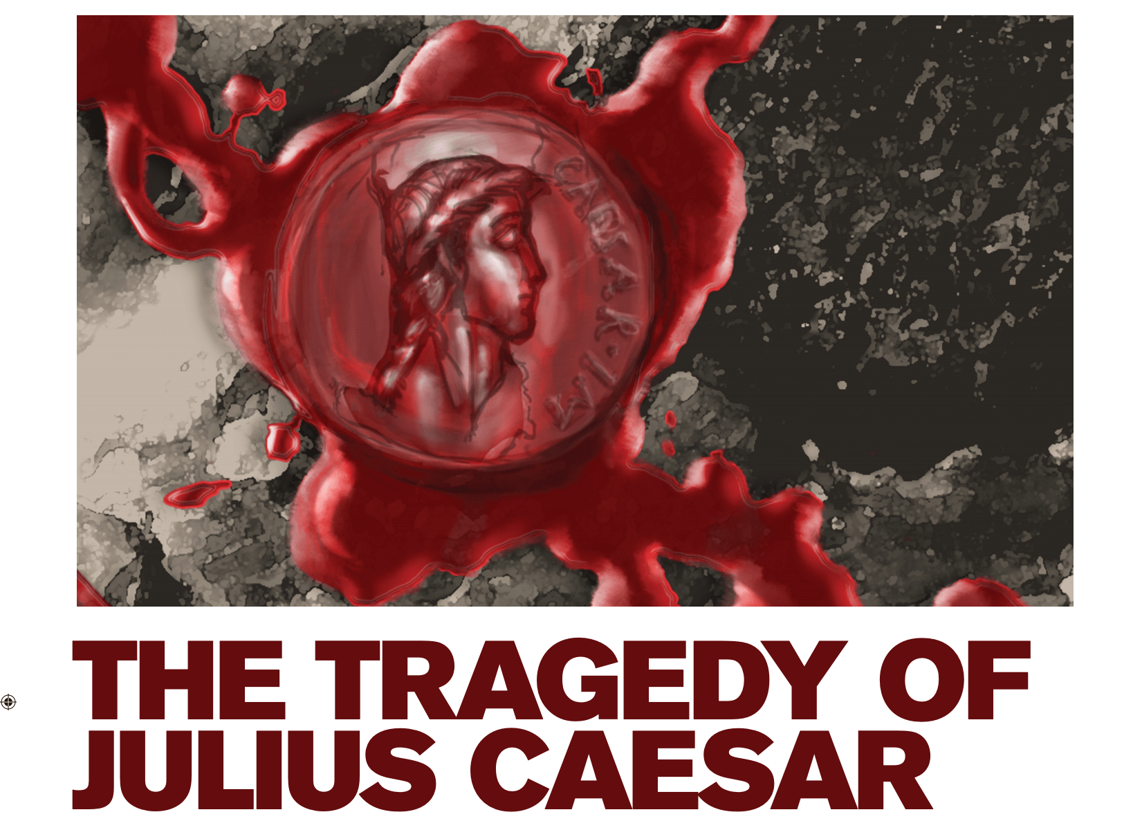 The Tragedy of Julius Caesar Poster 2016