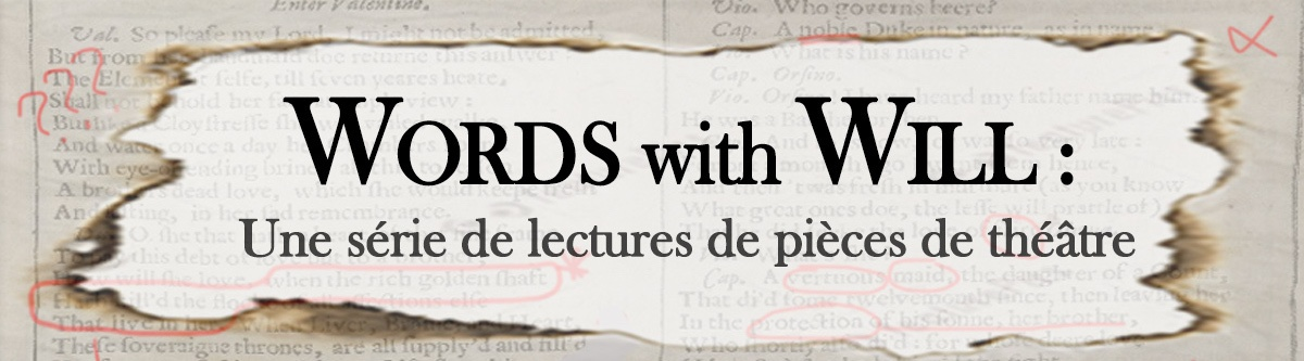 Words With Will: Une serie de lectures de pieces de theatre