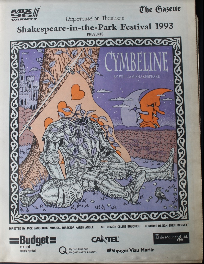 1993 Program Cover