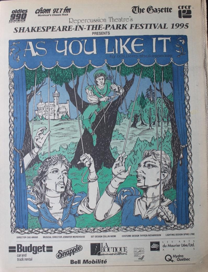 1995 Program Cover