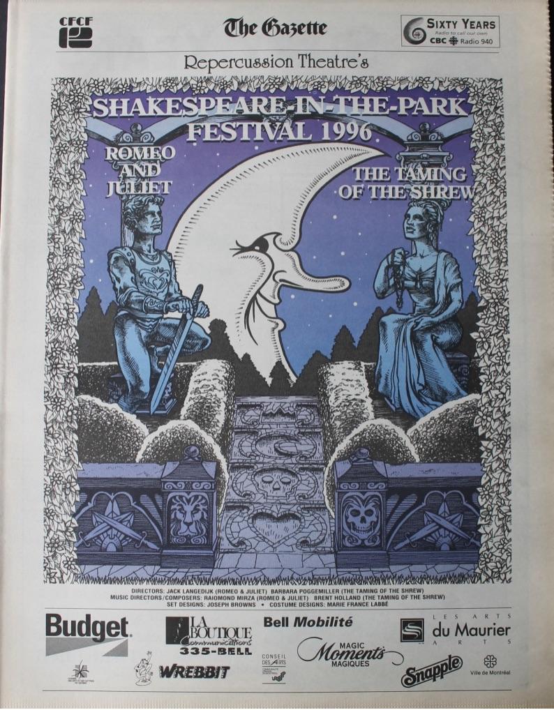 1996 Program Cover