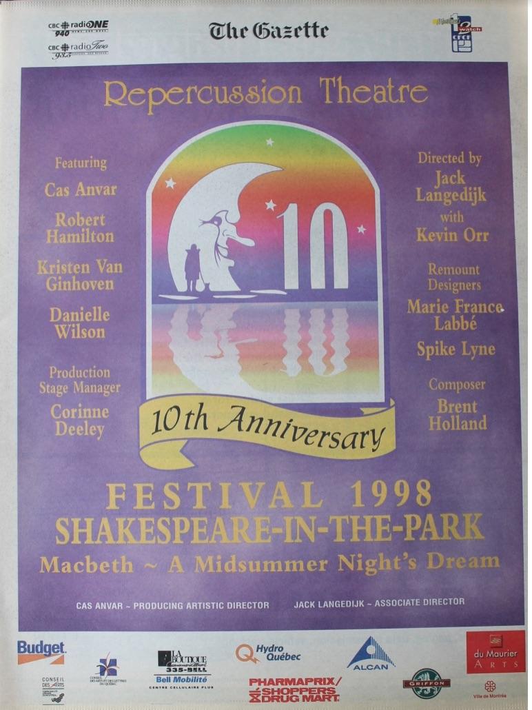1998 Program Cover