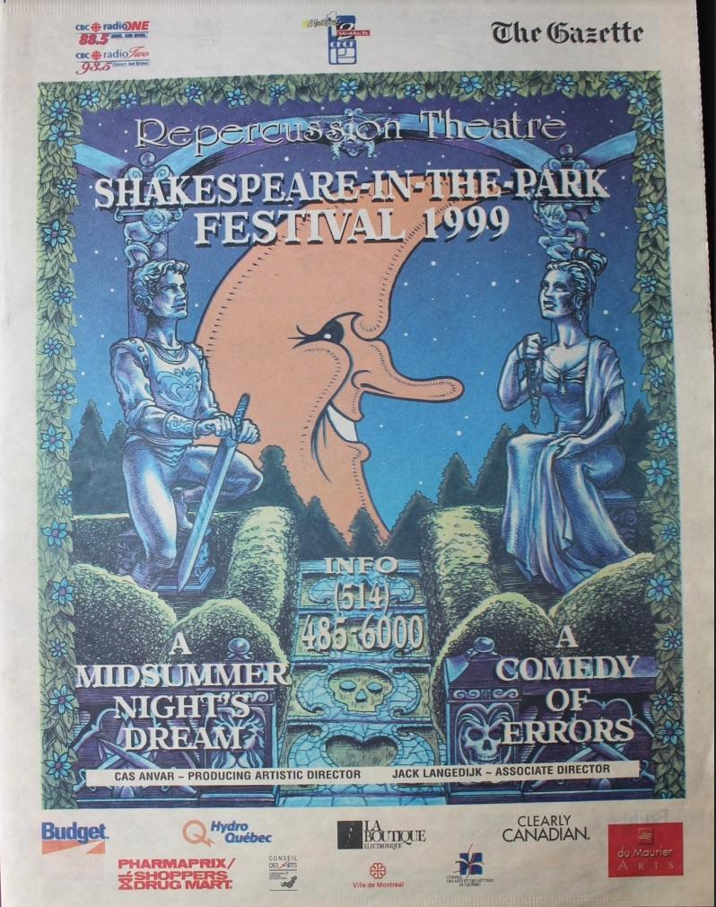 1999 Program Cover